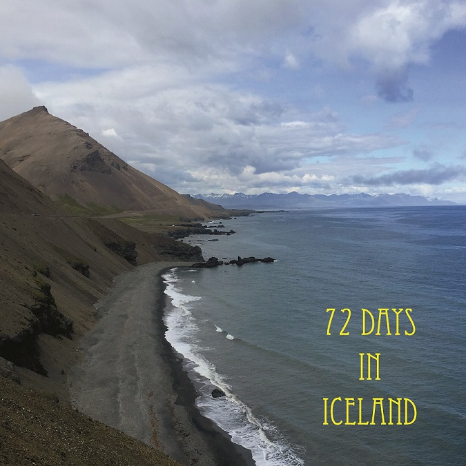 72 Days In Iceland poster